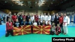 Македонската карате репрезентација на 39-то Европско првенство во Вадокаи карате во Италија.