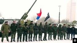 Сбор Народной армии Донбасса, март 2018. Фото: Фейсбук Братислава Живковича