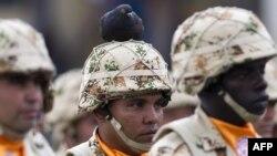 Военнослужащие колумбийской армии. Богота, 3 апреля 2013 года. Иллюстративное фото.
