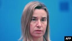 Shefja e politikës së jashtme të BE-së, Federica Mogherini.