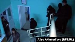 Саунадағы адамдар. Талдықорган, 5 қараша 2012 жыл.