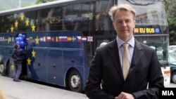 Евроамбасадорот Аиво Орав.