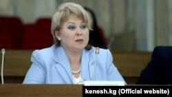 Депутат Жогорку Кенеша Ирина Карамушкина.