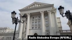 Извадени буквите од Влада на Република Македонија во очекување на нови со името Северна Македонија