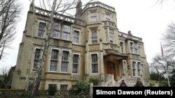 Здание посольства России в Лондоне