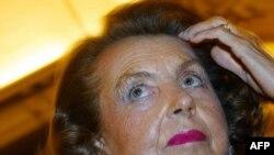 Владелица косметической империи l'Oreal Лилиан Бетанкур
