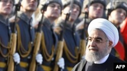 Hassan Rohani, întâmpinat cu garda de onoare la Moscova