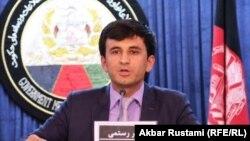آرشیف، اکبر رستمی سخنگوی وزارت زراعت و مالداری افغانستان