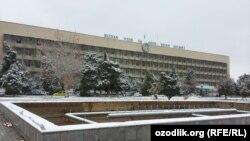 Здание одного из органов власти в Узбекистане.