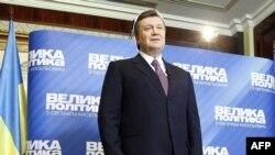 Собиқ Бош вазир Виктор Янукович президентликка сайланса¸ ўз рақиблари хатосини такрорламасликка ваъда қилмоқда.