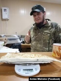 Арслан Мисиратов в «Хайтарме», Киев