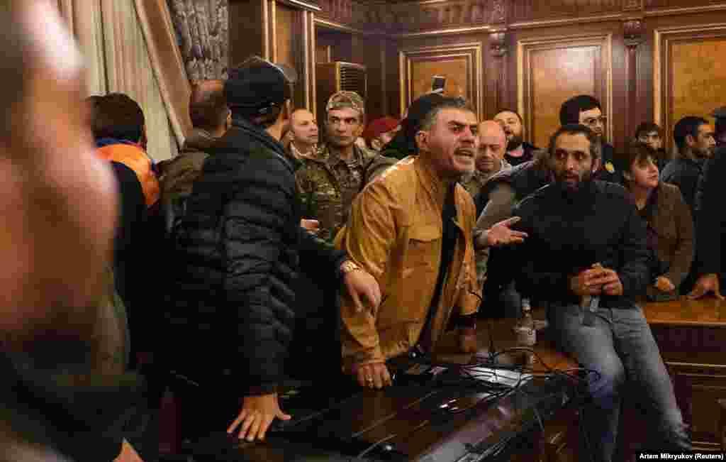 Полиция не препятствовала действиям демонстрантов
