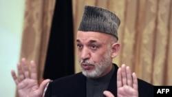 Afghan President Hamid Karzai (file photo)