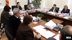 Архивска фотографија: Седница на државната изборна комисија.