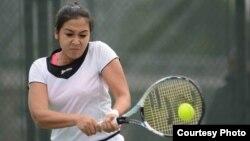 Казахстанская теннисистка Зарина Дияс.