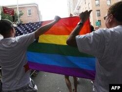 Gay Pride. Нью-Йорк