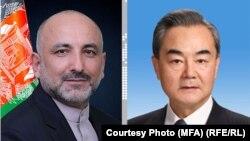 د افغانستان او چین د بهرنیو چارو وزیران