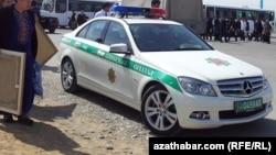 Полиция в Ашхабаде. Иллюстративное фото
