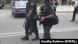 Azerbaýjanyň howpsuzlyk güýçleri.