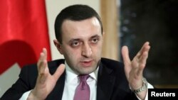 Georgian Prime Minister Irakly Garibashvili (file photo)