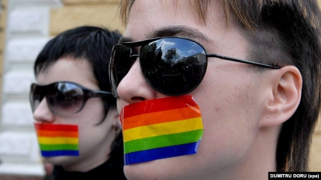 Moldovan LGBT activists hope that around 50 people will take part in an upcoming march in support of their community. (file photo)