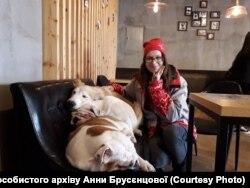 Волонтер на Олімпійських Іграх Анна Брусєнцова