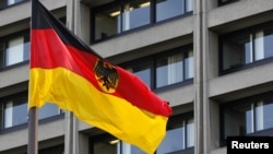 Флаг Германии. Иллюстративное фото.