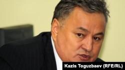 "Директор рынка ""Арал"" Ерлан Канапияев. Алматы, 16 октября 2012 года."