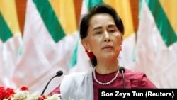 Аун Сан Су Чжи, 19 сентября 2017