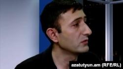 Տնտեսական մեկնաբան Բաբկեն Թունյանը «Ազատության» ստուդիայում, արխիվ: