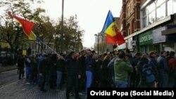 Diaspora moldoveană din Londra la alegerile prezidenţiale din 2016