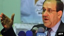 The agreement means a potential consensus between Nuri al-Maliki's State of Law Coalition and the Iraqi National Alliance.