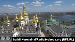 Radialna Street is just a stone's throw from Kyiv Pechersk Lavra, known as the Monastery of the Caves.