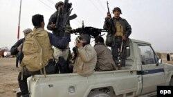 Իրաք - Շիա աշխարհազորայինները դիրքավորվում են Թիքրիթի մերձակայքում, 2-ը մարտի, 2015թ․