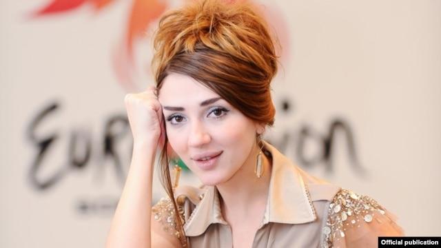 Azerbaijani singer Sabina Babayeva, Baku's Eurovision 2012 entry