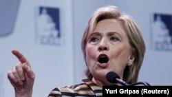 Kandidatja demokrate për presidente të Shteteve të Bashkuara, Hillary Clinton.