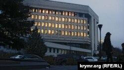 Будівля Верховної Ради Автономної Республіки Крим, архівне фото