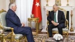 Tillerson Ankara sapar etdi