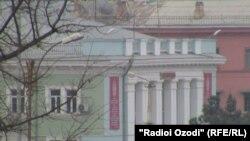 Здание ОМВД по г. Курган-Тюбе