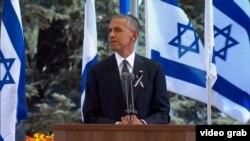Shimon nikada nije vidio ispunjene svoga sna o miru: Barack Obama