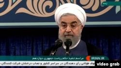 Președintele iranian Hassan Rohani