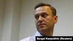 Алексей Навальный в зале суда, 2 октября 2017