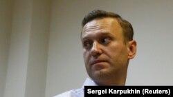 Алексей Навальный в Симоновском суде Москвы, 2 октября 2017