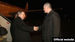 У Крим приїхав прем'єр самопроголошеної Абхазії Артур Міквабія, 20 грудня 2015 року