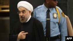 İran prezidenti Hassan Rohani