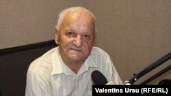 Vladimir Beșleagă în studioul Europei Libere