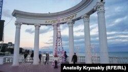 Кримчан закликали святкувати Новий рік за київським часом