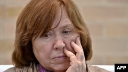 Svetlana Alexievich (file photo)