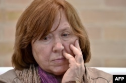 Письменниця Світлана Алексієвич