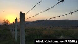 Қырғызстан мен Тәжікстан арасындағы шекара.